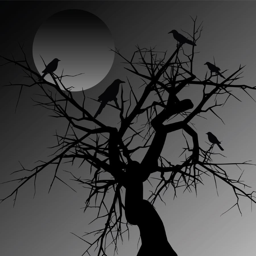 Horror top ten reading list readers lane for Creepy trees for halloween