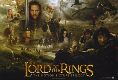 Movie Poster Lord of The Rings Lord of The Rings Movie Poster
