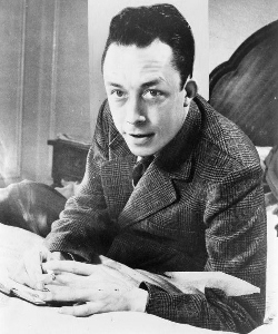 Albert Camus in 1956.