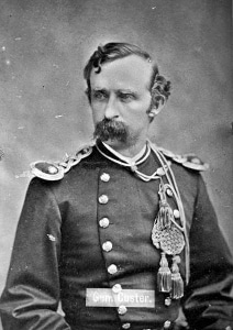 Custer in 1875, whiskers in good form.