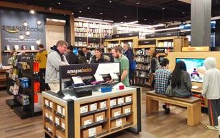 Amazon bookstore interior