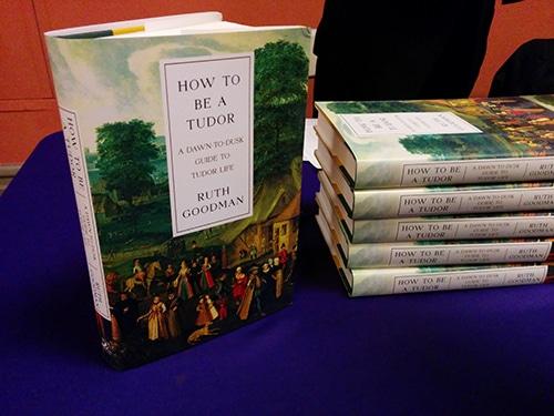 How to Be a Tudor book