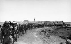British POWs in Tobruk, Libya.