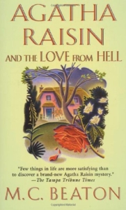 Agatha Raisin and the Love from Hell book cover