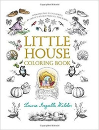 little-house-coloring-book