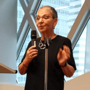 Nancy Pearl at Seattle Public Library