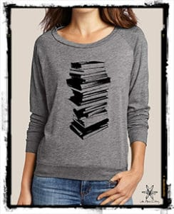 Stack of Books Pullover