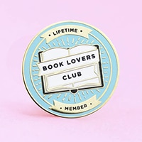 Book Lovers' Club Pin