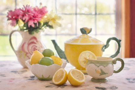 lemon lime teapot