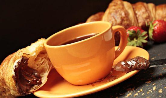 coffe and danish