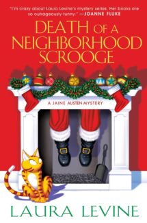 death of a neighborhood scrooge book cover
