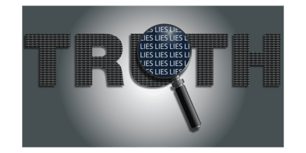 truth/lies graphic